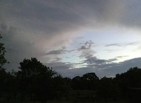 Nuages orageux