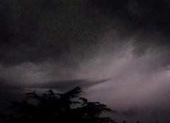 Ciel Niort 79000 Ambiance orageuse