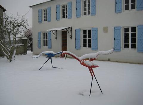 Neige dans le Béarn