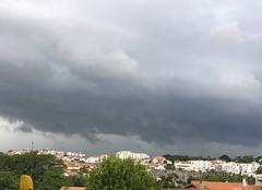 Nuages Biarritz 64200 Orage en vue