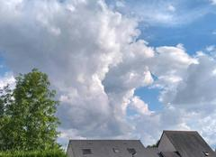 Ciel Seiches-sur-le-Loir 49140 La calme avant l orage?