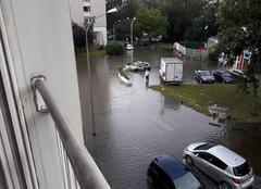 Pluie Savigny-sur-Orge 91600 Inondation a savigny sur orge