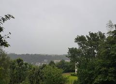 Pluie Lyon 69009 Pluie, vent, nuages