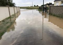 Pluie Foucheres 89150 Orage du jour