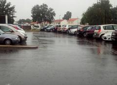 Pluie Challans 85300 Fortes pluies sur la Vendée