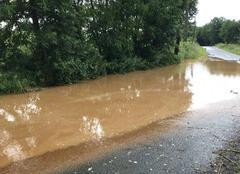Pluie La Milesse 72650 Innondation