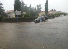 Orage Castelnau-le-Lez 34170 Orage diluvien