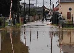 Pluie Theuville 28360 C'est un peu inondé