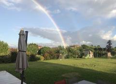 Ciel Cambernard 31470 Après la pluie... l?arc en ciel!
