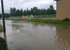 Pluie Aventignan 65660 Innondation