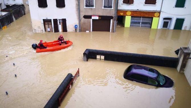 Reporters - Salies-de-Bearn 64270 - Catastrophe