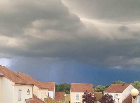Quelques minutes avant l orage