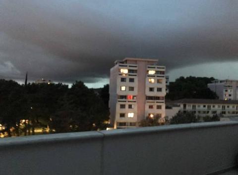 Un orage se prepare