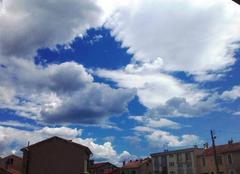 Ciel La Seyne-sur-Mer 83500 L'orage est terminé....