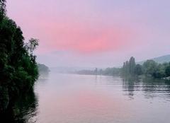 Ciel Triel-sur-Seine 78510 Coucher de soleil impressionniste