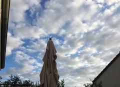 Nuages Rambouillet 78120 Ciel de fin de semaine