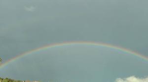 Pluie Les Mages 30960 Bel arc en ciel