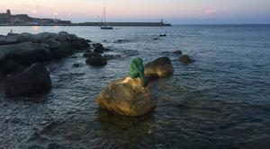 Mer L'Ile-Rousse 20220 La petite sirène