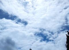 Ciel Bauvin 59221 Soleil voilé