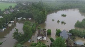 Catastrophe Breteuil 27160 Inondations dans l?Eure