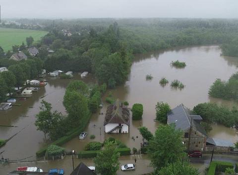 Inondations dans l?Eure