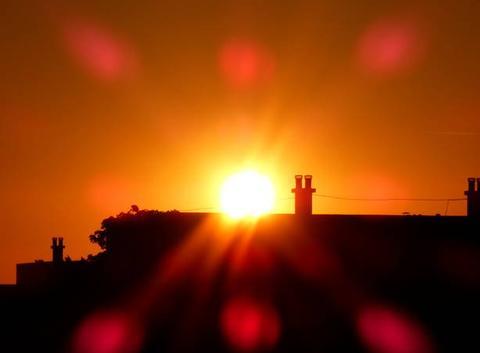 Coucher de soleil de ce 19 juin 2018