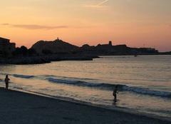Ciel L'Ile-Rousse 20220 Coucher de soleil