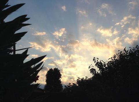 Ciel au couchant