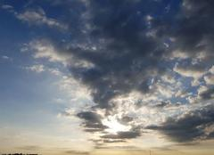 Ciel Reims 51100 Soleil levé