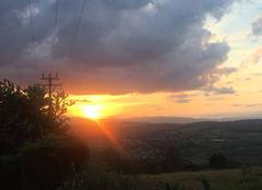 Ciel Fleurieux-sur-l'Arbresle 69210 Coucher de soleil
