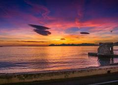 Ciel Antibes 06600 Magnifique sunset