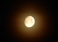 Ciel Niort 79000 Halo lunaire