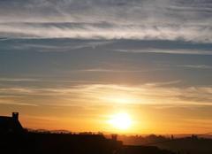 Ciel Saint-Lezer 65500 Lever de Soleil sur St Lézer à 06 h 35.