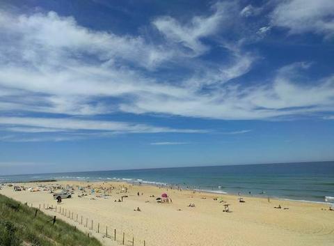 Mimizan plage - A Sunny Sunday June 2018