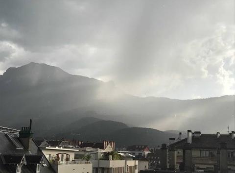 Sous les orages