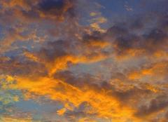 Ciel Saint-Paul 87260 Au soleil couchant