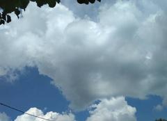 Orage Faux-la-Montagne 23340 Ciel orageux
