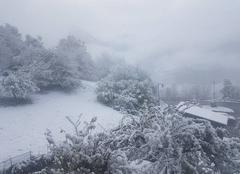 Neige Bozel 73350 Premières neiges