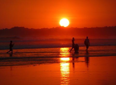 Coucher de soleil au Costa-Rica