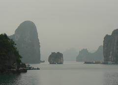 Brouillard Hanoi Baie d'HALONG