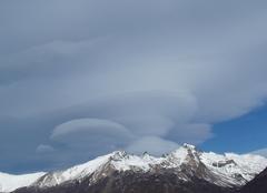 Nuages Lago-Argentino Lenticulaire du bout du monde