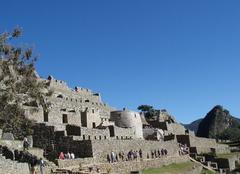 Ciel Pisac Soleil sur le Machu Picchu