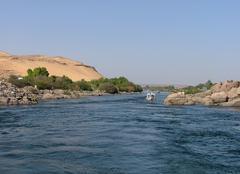 Chaleur Louxor Les rives du Nil