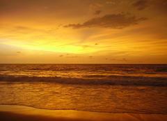 Nuages Libreville Coucher de soleil à Libreville