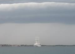 Orage Piran Jour d'orage en Slovénie