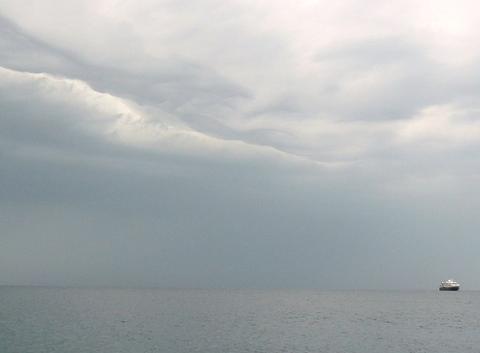 Jour d'orage à Piran (suite)
