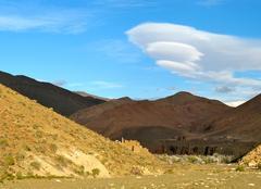 Nuages Ouarzazat Etrange visiteur dans ce ciel Marocain