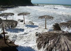 Tempête Agrigento 92100 Tempête sur la Sicile