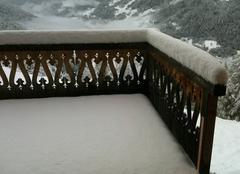 Neige Sierre St-luc sous la neige.