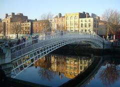 Dublin Sous les ponts de Dublin
